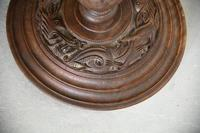 Oriental Chinese Carved Standard Lamp (8 of 10)