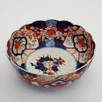 Late 19th Century Japanese Imari Small Scalloped Bowl (2 of 6)