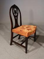 Good Late 18th Century Pair of Mahogany Hooped Back Single Chairs (3 of 5)