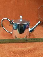 Silver Plate Sheffield Teapot - Gladwin Ltd c.1930 (6 of 10)