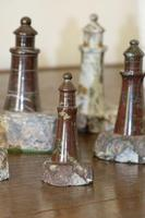 Rare Marble Collection of 9 Carved Lighthouse (11 of 15)
