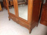 Carved Oak 2 Door  Armoire (4 of 9)