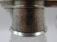 Good Victorian Silver Claret Jug. London 1866 by Edward & John Barnard (4 of 10)