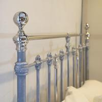 Antique Bed with Nickel Plating (9 of 9)