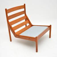 Danish 1960's Teak Lounge Chair by Illum Wikkelso (4 of 10)