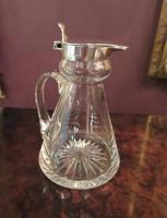George V Antique Silver Whisky Noggin (4 of 6)