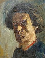 Oil on Board Portrait of Male (2 of 2)