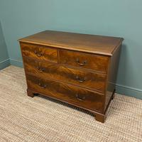 Quality Edwardian Flamed Mahogany Antique Chest of Drawers (3 of 5)