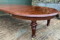 Super Quality Victorian Mahogany Extending Dining Table Seats 14 (10 of 18)