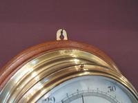Antique Barker of London Bulkhead Marine Barometer (4 of 5)