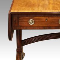 Regency Mahogany Inlaid Sofa Table (12 of 13)