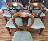 Set of 10 Victorian Balloon Back Chairs (8 of 10)