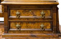 C1890 Burr Walnut Maple & Co Dressing Table (2 of 5)