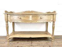 Large Rustic Pine Sideboard with Drawers (2 of 10)