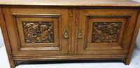 Art Nouveau Golden Oak Sideboard (4 of 6)