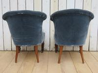Pair of Antique French Tub Chairs (6 of 9)