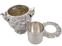 Antique George III Sterling Silver Wine Cooler (9 of 18)