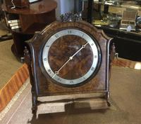 Walnut Framed Mantel Clock