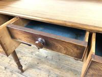Antique Victorian Mahogany Ladies Writing Desk (6 of 17)