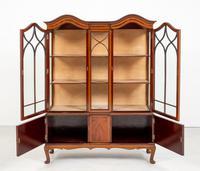 Quality Sheraton Revival Mahogany Display Cabinet (7 of 9)