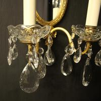 French Pair Of Twin Arm Antique Girandoles (3 of 9)