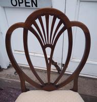 18th Century Hepplewhite Mahogany Single Chair (5 of 5)