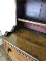 Antique 19th Century Oak Dresser (11 of 16)