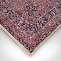 Very Large Antique Heriz Carpet, Persian, Room Size, Rug, Edwardian, Circa 1910 (9 of 12)