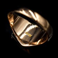 Antique Shield Signet 9ct 9K Yellow Gold Ring (2 of 10)