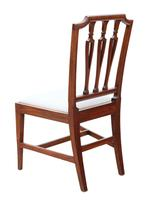 19th Century Mahogany Dining Bedroom, Hall Chair (2 of 6)