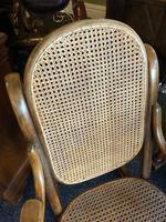 Antique Thonet Bentwood Rocking Chair Rare Stamped (4 of 6)