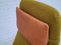 Alf Svensson, 60s, Armchair Model Kontur, Completely Restored, Furniture Wool (14 of 16)