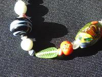 Vintage handmade  Murano Glass Bead necklace (4 of 12)