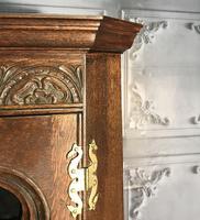 Gothic Style Oak Corner Cabinet (9 of 14)