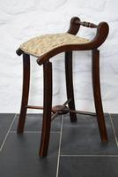 Victorian Mahogany Cello Stool (2 of 10)