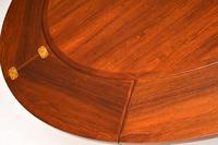 1960's Danish Rosewood Flip Flap Lotus Dining Table by Dyrlund (11 of 11)