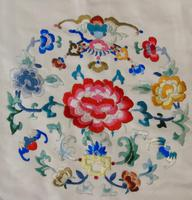 Antique Chinese Silk Embroidered Robe (2 of 9)
