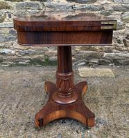 Regency Rosewood Card Table (20 of 24)