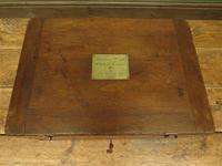 Antique Oak Chest, Early 19th Century Storage Chest for Weights, Lockable (2 of 21)