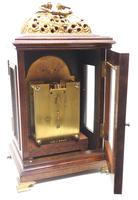 Stunning Burr Walnut Basket Top Bracket Clock by Charles Frodsham Clock Makers to The King (7 of 12)
