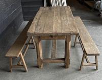 Normandy Oak Farmhouse Table & Bench Set (2 of 19)