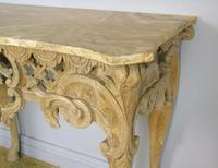 Early 19th Century Italian Console Table Sienna Marble Top (6 of 9)
