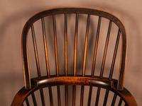 Thames Valley Yew Wood Windsor Chair (8 of 11)