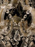 10 Light Italian Marie Theresa Antique Chandelier (6 of 14)