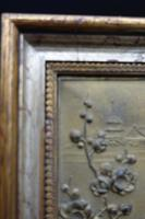 Early 20th Century Cold Cast Bronze Plaque of Two Lovebirds (4 of 5)
