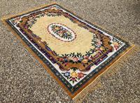 Vintage Chinese Silk Carpet 2.43m x 1.59m (11 of 11)
