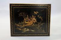 Edwardian Japanned Chinoiserie Nest of Tables (7 of 12)