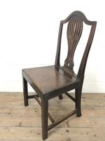 Set of Four Welsh Oak Farmhouse Chairs (8 of 10)
