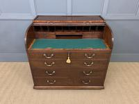 Georgian Mahogany Double Sided Tambour Roll Top Desk (9 of 26)