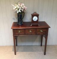 Inlaid Mahogany Side Table (3 of 10)